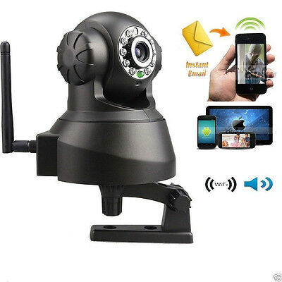 720P Wireless Wifi Security Camera IP Smartphone Audio Night Vision Baby Monitor