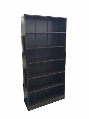 Brand New Office Home 6 Levels Book Shelves Bookcases Dark Brown