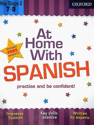 At Home With Spanish Key stage 2 age 7-9 Learning improve oxford children's book
