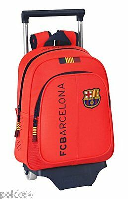 FC Barcelone cartable à roulettes trolley M sac dos Orange 34 cm maternelle 0825