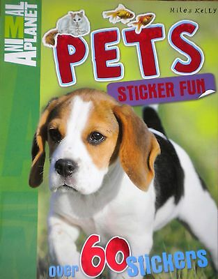 Pets Animal Planet Sticker Activity children's Book new