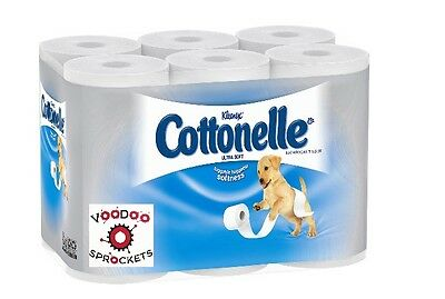 Cottonelle - Ultra Soft Bath Tissue, 1-Ply, 165 Sheets/Roll - 48/Carton