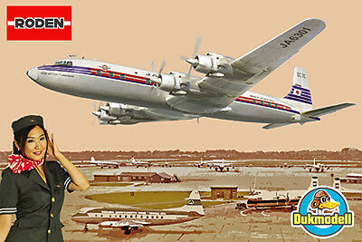 Roden Douglas DC-7C - Japan Air Lines 1/144 #303