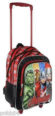 The Avengers cartable à roulettes Marvel trolley L sac dos 39 cm Primaire 811663