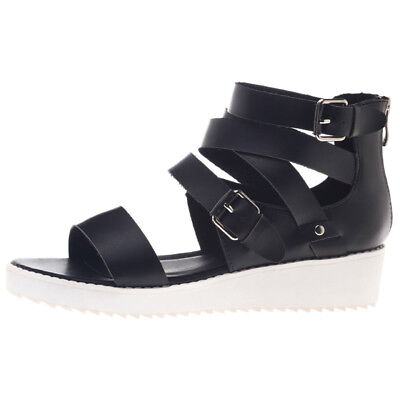Mooloola Edgy Sandals in Black