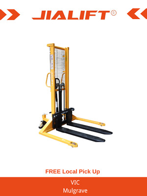 Brand New 1.0T Straddle Leg Manual Stacker/Lifter Lift Height 1600mm