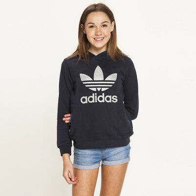 adidas Girls JWFY Tech Sweatshirt in Blue