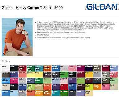 T-SHIRTS BLANK BULK LOT Colors or White S-XL Wholesale Goods 50