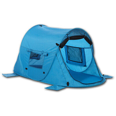 Outdoorer Kinder Strandmuschel & Reisebett Zack Premium Baby – pop up, UV 80