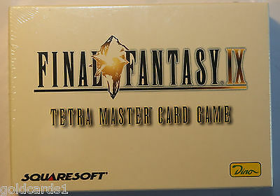 Final Fantasy IX Tetra Master Card Game OVP Sealed Deutsch