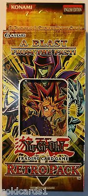 Yu-Gi-Oh Box Retro Pack 1 RP01 1x Special Pack = (3 Booster + 1 SCR); Sealed OVP