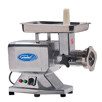 General GSM100 Commercial Meat Mincer Grinder with #22 Hub 75 RPM Heavy Duty