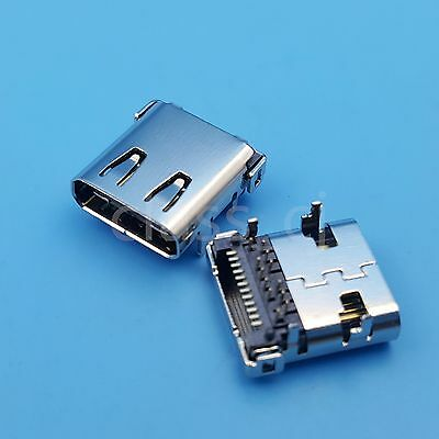 2Pcs High Speed USB3.1 Type C Female 24Pin PCB Mount Solder Socket Connector
