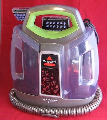 BISSELL SpotClean Pet Model 5207W Barely Used Works Great