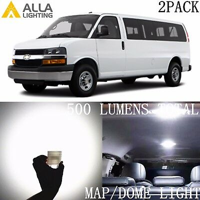 Alla Lighting LED Dome Map Interior Light Overhead Bulb Lamp for Express,White