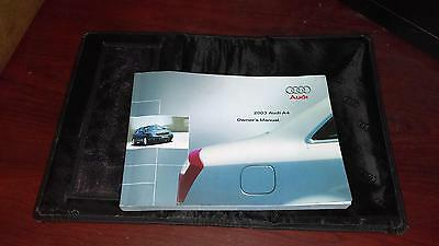 Audi A4 Owners Manual, 2003