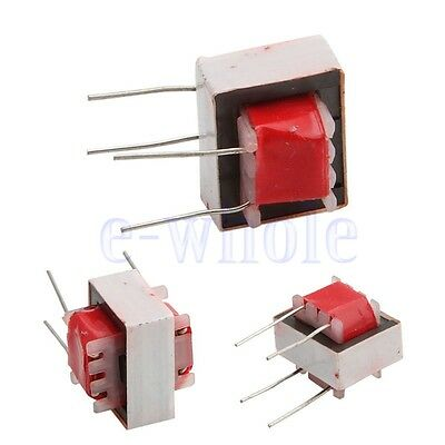 5XAudio Transformer 600:600 Ohm Europe 1:1 EI14 Isolation Transformer Ringing WS