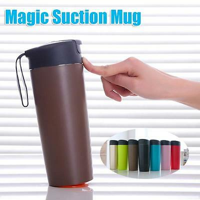 500ml Vacuum Cup Mighty Mug Magic Sucker With Innovative Push Not Pour Thermos
