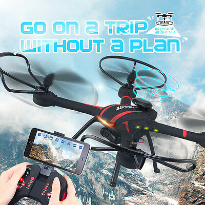 JJRC H11WH HD Wifi FPV 2MP Camera 5.8Ghz RC Quadcopter Drone with RTF UAV Hover