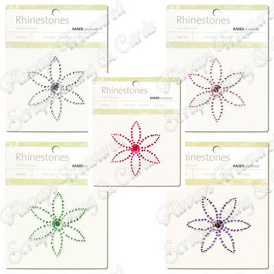 Kaisercraft Self Adhesive Rhinestone Pictures ~ Petal ~ 5 Colours Available