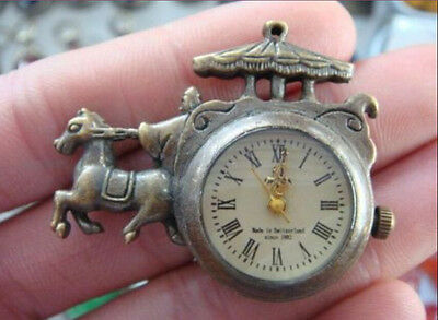 The adornment of the ancient carving copper collect mechanical pocket watch