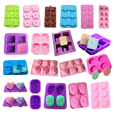Silicone Fondant Mould Cake Topper Gum Paste Decor Chocolate Mould Baking Tool