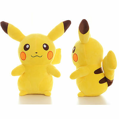 HOT Xmas Gift Japanese Anime POKEMON Pikachu Soft Plush Toy Kids Teddy Doll 35cm