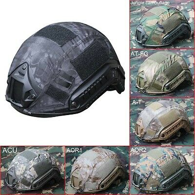 Military Paintball Tactical Gear Combat Climbing Protective Fast Helmet Cover