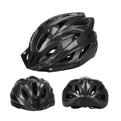 New UNISEX ADULT OUTDOOR BICYCLE HELMET BIKE HELMET PROTECTIVE Cycling +  Visor