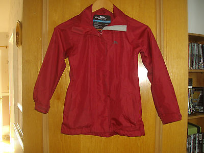 Trespass ~ Child's Red Jacket ~ Unisex ~ Age 9-10 Years