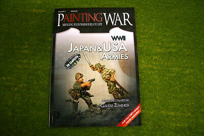 Painting War Issue #3 Wwii Usa & Japan Book/ Magazine