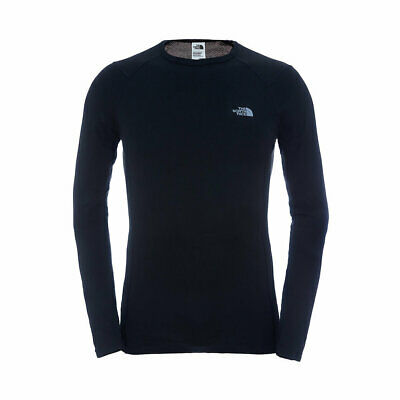 The North Face Warm L/s Crew Neck Tnf Black First Layer Fw 2017 New S M L Xl Mag