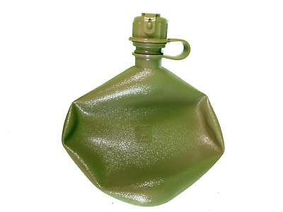 US army surplus 2 quart water bottle canteen field flask collapsible