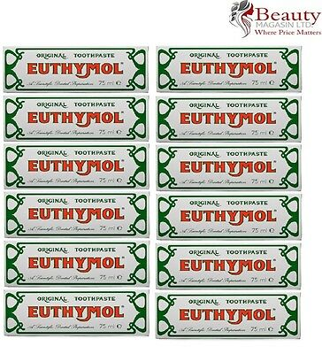 Euthymol Toothpaste 75ml - Pack of 12