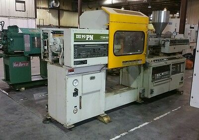 ISE 90 Ton Toshiba Injection Molding Machine, See Video in Description