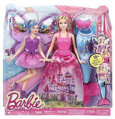 mattel y6373 barbie feen prinzessin catania puppe fee elfe. Black Bedroom Furniture Sets. Home Design Ideas