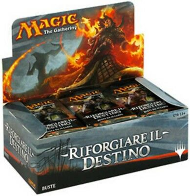 Magic The Gathering Box 36 Buste Riforgiare il Destino Italiano Sigillato