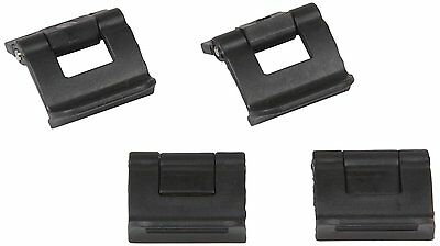 Cigar Caddy Black Replacement Clips for Travel Humidors (4) Pack