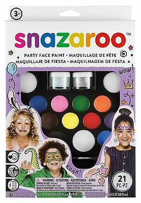 Face Painting Set Skin Safe Halloween Makeup Ultimate Party Kids Fancy Paint Kit