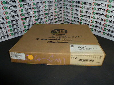 ALLEN BRADLEY  1336-GM1 **New in Factory Packaging**