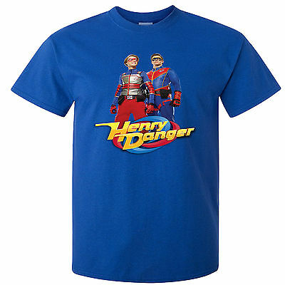 Childs T-Shirt -  Henry Danger Heroes - Many Sizes And Colors - Free Shipping!