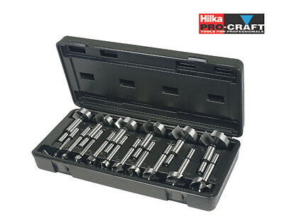Hilka Pro-Craft 16 Piece Forstner Wood Drill Bit Set   *BRAND NEW & VAT RECEIPT*