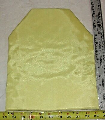 10x12 Shooter Cut Level IIIA 3A Body Armor Plate Bullet Proof Kevlar Insert