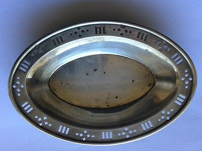 Antique Tiffany & Co. 925-1000 Sterling Silver Oval Tray