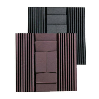 2 Solid Colors Side Wall Acoustic Foam Set Studio Sound Absorption Panels