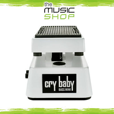 New Dunlop Mini Bass Crybaby Wah Pedal - CBM105Q Cry Baby