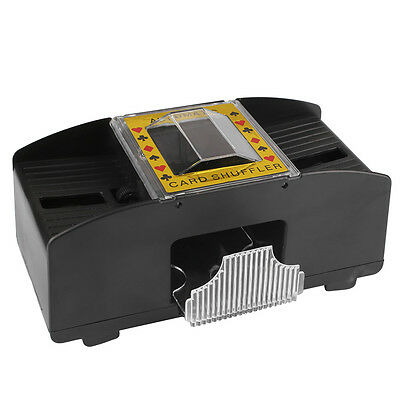 Battery Operated Automatic Casino Poker Game Card Shuffler Sorter Deck)