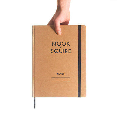 A4 Notebook Lined 3-Pack Australian Brand Journal Recycled Kraft Paper Moleskine