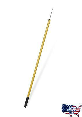 Ettore 49042 Trash Picker Tool with Stainless Steel Tip, 43-Inch, New, Free Ship