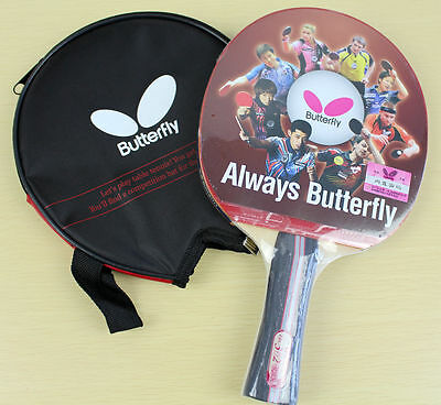 GENUINE Butterfly TBC302 Table Tennis Ping Pong Racket Paddle Bat Blade FL NEW